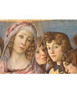 Sandro Botticelli, Maria mit dem Kinde und sechs Engeln