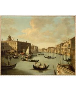 Giovanni Antonio Canaletto, Ansicht des Canal Grande