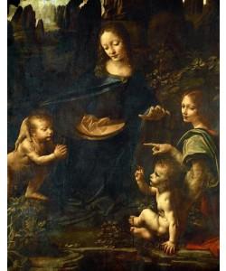 Leonardo da Vinci, Felsengrottenmadonna