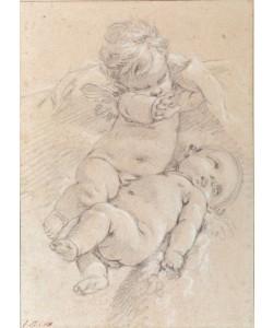 Francois Boucher, Zwei geflügelte Putti