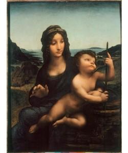 Leonardo da Vinci, Madonna mit der Spindel