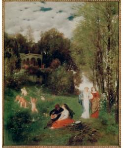 Arnold Böcklin, Ideale Frühlingslandschaft