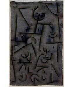 Paul Klee, Bacchanal in Rotwein