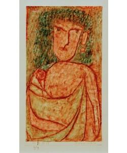 Paul Klee, Mannweib (aus einem verschollenen antiken Roman)