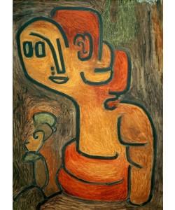 Paul Klee, Brustbild der Gaia