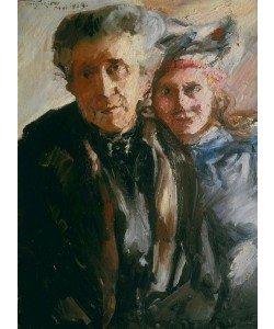 Lovis Corinth, Großmutter und Enkelin