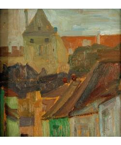 Egon Schiele, Häuserstudie (Stiftskeller)