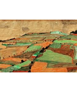 Egon Schiele, Felderlandschaft