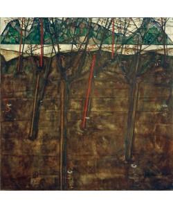 Egon Schiele, Vorfrühlingslandschaft