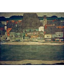 Egon Schiele, Häuser am Fluß II