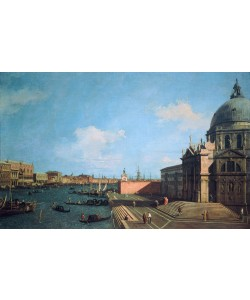 Giovanni Antonio Canaletto, Entrance to the Grand Canal with the Salute