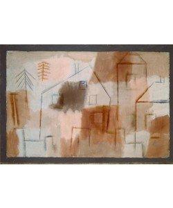 Paul Klee, Ort in Blau und Orange