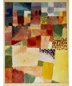 Paul Klee, Motiv aus Hamammet