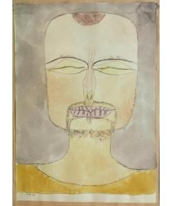 Paul Klee, Versunkenheit (nach der Zeichnung 19/75)