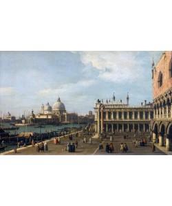 Giovanni Antonio Canaletto, Santa Maria Della Salute from the Piazzetta