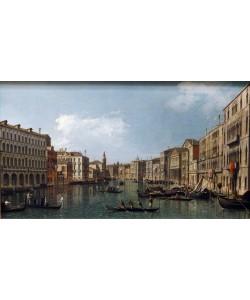 Giovanni Antonio Canaletto, The Grand Canal with the Carita