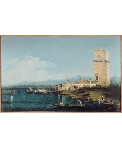 Giovanni Antonio Canaletto, Der Turm von Marghera