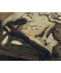 Pierre Bonnard, Femme assoupie su un lit, ou L'indolente
