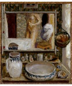 Pierre Bonnard, La table de toilette ou la glace