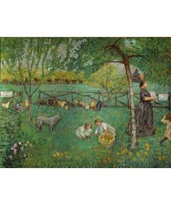 Pierre Bonnard, Le grand jardin au Clos