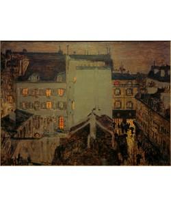 Pierre Bonnard, Montmartre im Regen oder Rue Tholozé