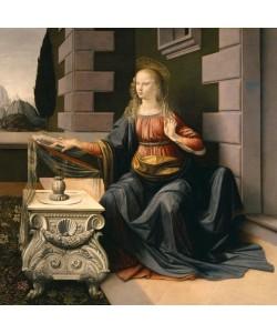 Leonardo da Vinci, Die Verkündigung