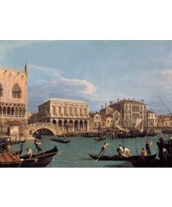 Giovanni Antonio Canaletto, Dogenpalast und Justizpalast