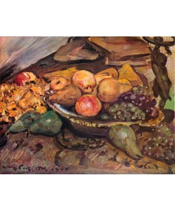 Lovis Corinth, Still-Life with Fruit