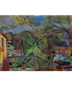 Pierre Bonnard, Die Terrasse in Vernon