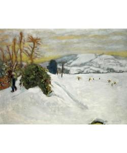 Pierre Bonnard, La neige au Grand-Lemps (Neige en Dauphiné)