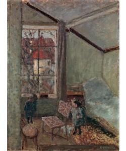 Pierre Bonnard, Intérieur d'atelier avec deux enfants