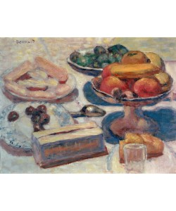 Pierre Bonnard, Stillleben mit Gebäck