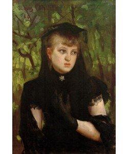 Lovis Corinth, Porträt Frau Behn