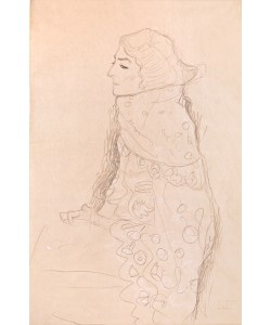 Gustav Klimt, Sitzende Dame