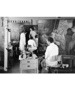 Lovis Corinth, Maria mit dem Kind und vier Heiligen