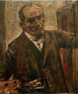 Lovis Corinth, Selbstporträt mit Palette