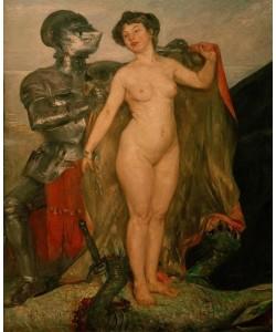Lovis Corinth, Perseus und Andromeda