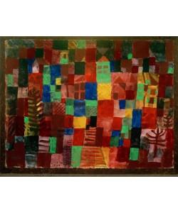Paul Klee, Häuser mit Treppenweg