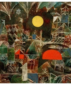 Paul Klee, Mondauf-Sonnenuntergang