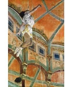 Edgar Degas, Miss La la at the Cirque Fernando, 1879 (oil on canvas)