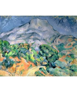 Paul Cézanne, Mont Sainte-Victoire, 1900 (oil on canvas)