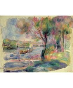 Pierre Auguste Renoir, The Seine at Argenteuil, 1892