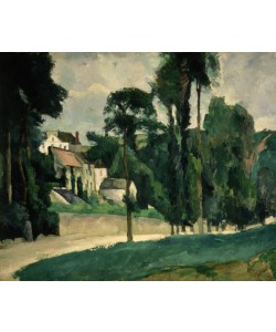 Paul Cézanne, The Road at Pontoise, 1875 (oil on canvas)