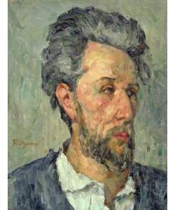 Paul Cézanne, Portrait of Victor Chocquet, 1876-77 (oil on canvas)