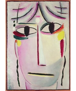 Alexej von Jawlensky, The Redeemer's Face, 1920 (oil on canvas)