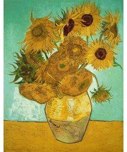 Vincent van Gogh, Sunflowers, 1888 (oil on canvas)