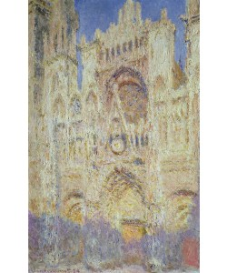 Claude Monet, Rouen Cathedral at Sunset, 1894