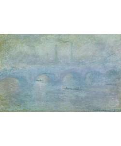 Claude Monet, Waterloo Bridge, Effect of Fog, 1903 (oil on canvas)