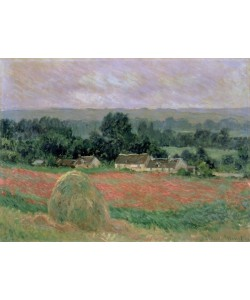 Claude Monet, Haystack at Giverny, 1886 (oil on canvas)