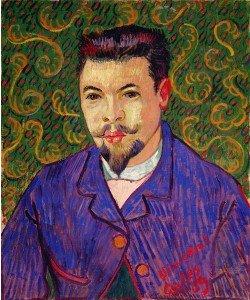 Vincent van Gogh, Portrait of Dr. Felix Rey, 1889 (oil on canvas)